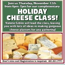 cheese class nov